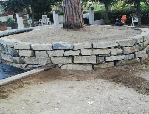 Proyecto: Muro de piedra natural