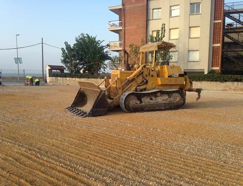 Proyecto: Nivelación de Terreno para Ayuntamiento Castelldefels