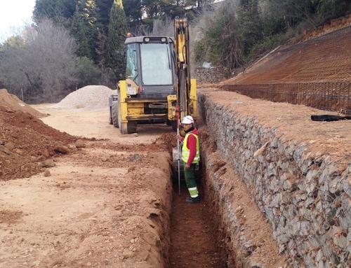 Proyecto: Excavación de zanja en terreno