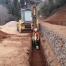 Trabajo de excavación de zanja realizado por EXCAVACIONES JODAR para CLIENTE PARTICULAR